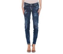 Skinny Jeans mit Zipper