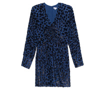 Seiden-Mix Kleid aus Leo Jacquard