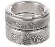 2 Ringe aus Sterling Silber