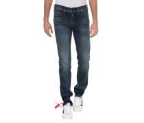 Special Edition Slim-Fit Jeans mit Ziernähten