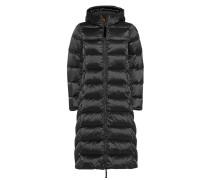 Daunen-Mantel mit Kapuze
