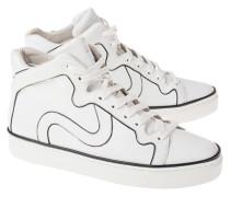 Glattleder High-Top Sneaker
