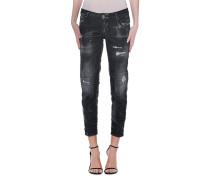 Skinny-Jeans in Destroyed-Look