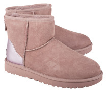 Leder-Boots mit Lammfell-Futter