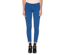 Gemusterte Skinny-Jeans
