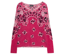Woll-Mix Pullover im Paisley-Design