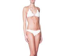 Bikini mit Muschelkante