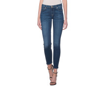 Washed-Out Skinny-Jeans