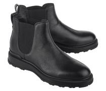 Glattleder-Chelsea-Boots