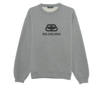 Oversize Sweatshirt mit Label-Wording