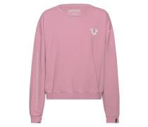 Sweatshirt mit Label-Wordings