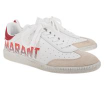 Sneaker mit Label-Schriftzug