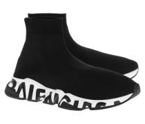 High-Top Sneaker im sockenartigen Design