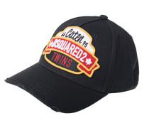 Bestickte Cap mit Logo-Emblem