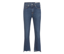 Cleane Straight-Leg Jeans