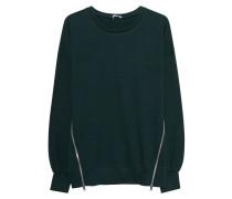 Oversize-Sweatshirt mit Zipper
