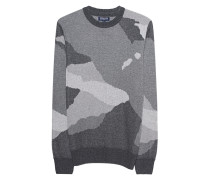 Camouflage Strickpullover