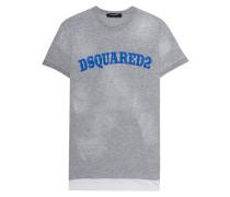 Destroyed T-Shirt mit Logo