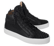 High-Top Leder Sneaker