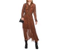 Leo-Kleid mit Schluppe