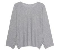 Pullover mit Volant-Details