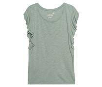 Meliertes Baumwoll-T-Shirt