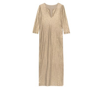 Leinen Maxi-Kleid