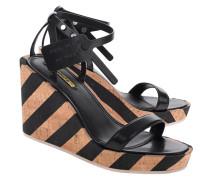 Sandale mit Wedge-Absatz