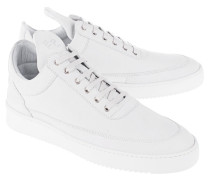 Low-Top Nubukleder-Sneakers  // Low Top Lane Matt Nubuck White