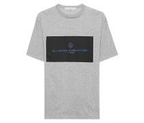 Baumwoll-T-Shirt mit Logo-Print