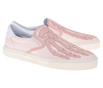 Slip-On Sneaker im Knochen-Design