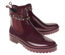 Chelseaboots aus Gummimaterial