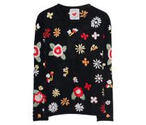 Floraler Pullover
