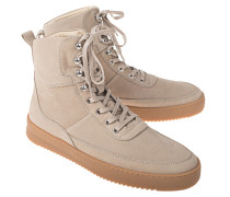 High-Top Leder-Sneaker