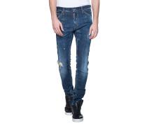 Destroyed Slim-Fit Jeans