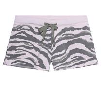Shorts im Zebra-Design
