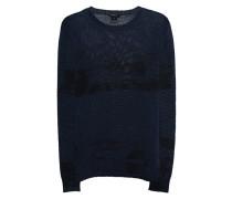 Leinen-Feinstrick-Pullover