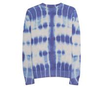 Kaschmir-Pullover im Batik-Design