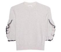 Pullover mit Rüschen-Ärmeln