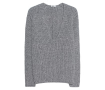 Oversize Grobstrick-Pullover