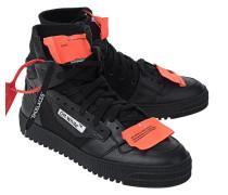 Leder-Sneaker mit Schnürung