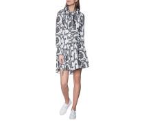 Kleid mit Loch-Stickereien