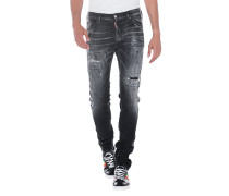 Destroyed Slim Fit Jeans