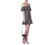 Gepunktetes Mini-Kleid