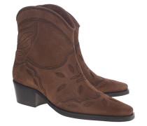 Wildleder-Western-Boots