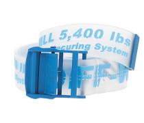 Transparenter Gürtel mit Logo-Schriftzug