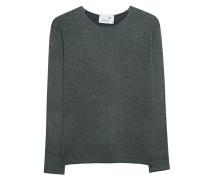 Melierter Woll-Kaschmir-Pullover