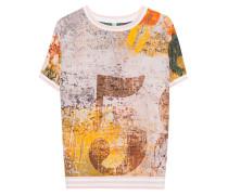 Seiden-Stretch T-Shirt