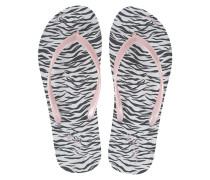 Flip Flops mit Zebra-Print