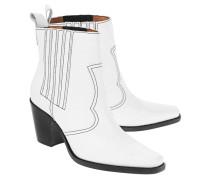 Leder-Ankle Boots